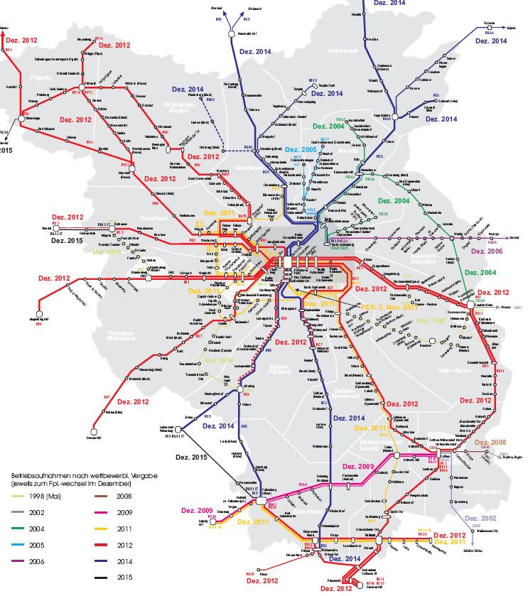 Db Karte Berlin.Grosse Vbb Ausschreibung Db Vormacht Soll Gebrochen Werden