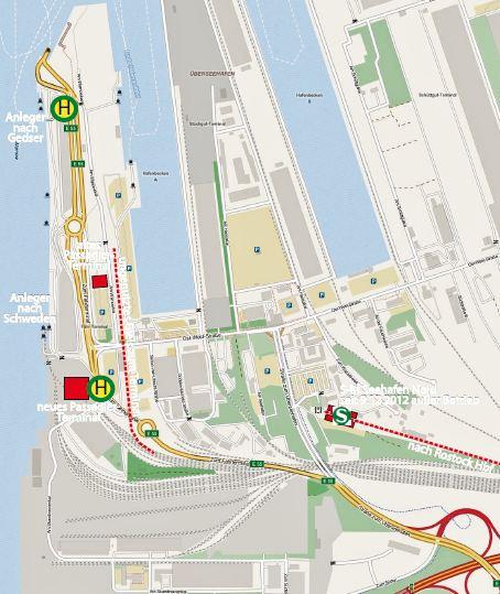 Rostocker SBahn zum Fhrhafen fhrt nicht mehr signalarchivde