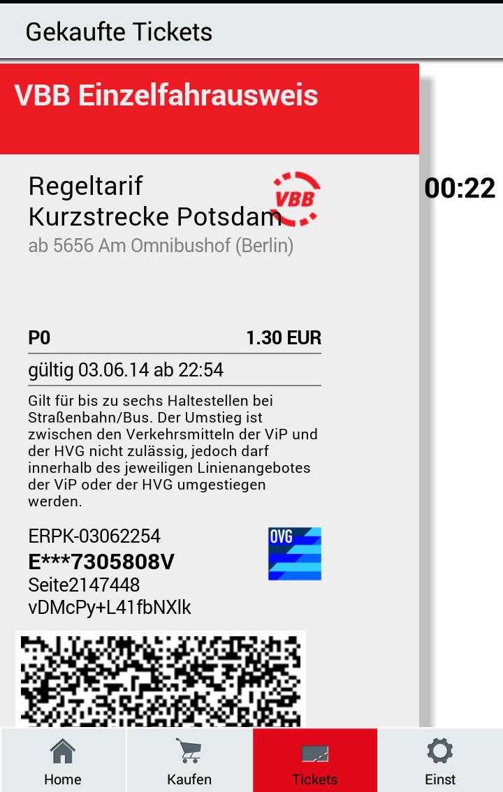 4 Fahrten Karte Bvg.Ticket Kauf Per App Signalarchiv De