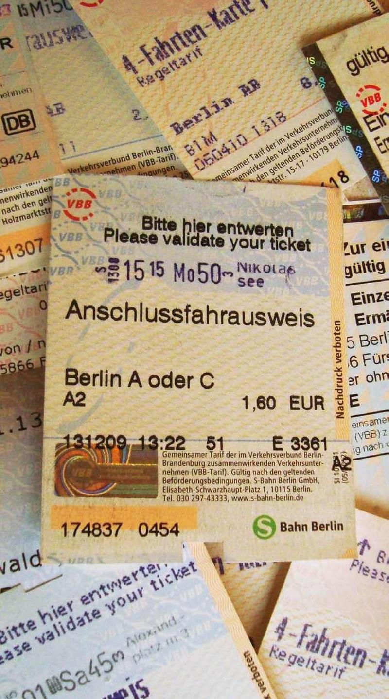 4 Fahrten Karte Bvg.Vbb Anschlusstickets Wichtiges Angebot Aber Fehlende