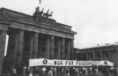 Demo am Brandenburger Tor