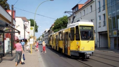 Tram in Adlershof